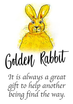The Wisdom of Golden Rabbit Logo